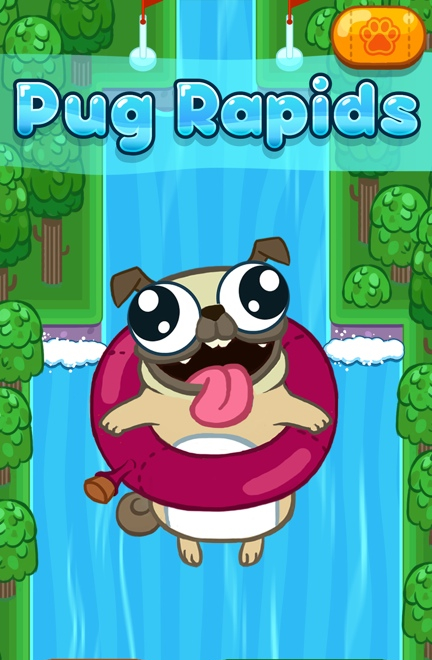Pug Rapids Game Screenshot - 1 of 4