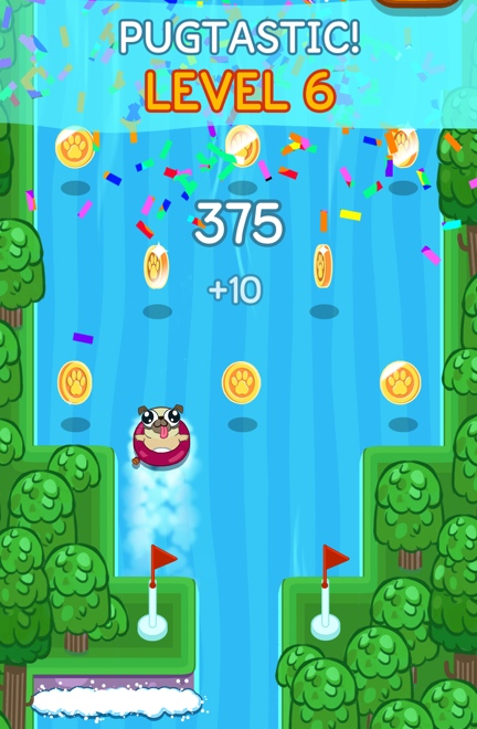 Pug Rapids Game Screenshot - 3 of 4