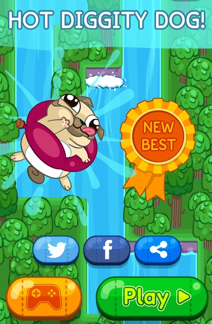 Pug Rapids Game Screenshot - 4 of 4